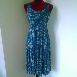 Plenty by Tracy Reese print ruched sundress